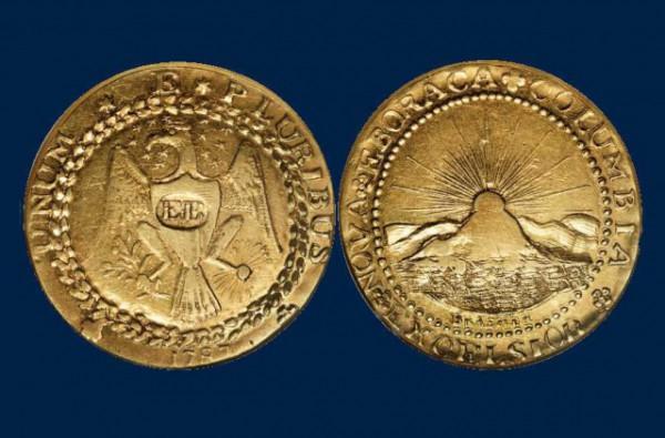 Монета имеет беспрецедентное историческое значение