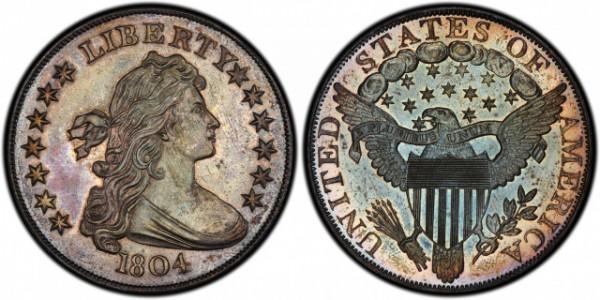 Серебряный доллар имеет несколько типов