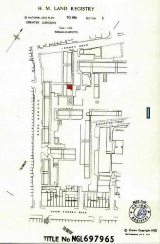 Схема расположения квартиры