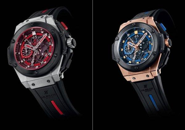 Часы Hublot с украинской символикой (справа) за 26 000 евро