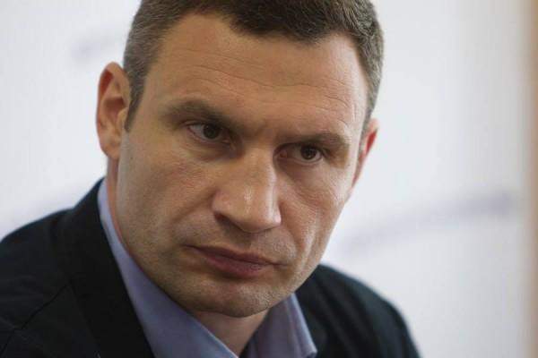 Виталий Кличко - новый мэр Киева