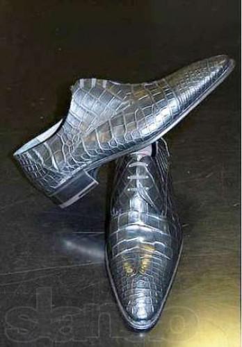 Туфли из крокодила за 24 тысячи