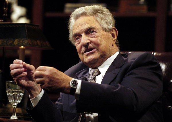 Американский финансист, инвестор и филантроп Джордж Сорос