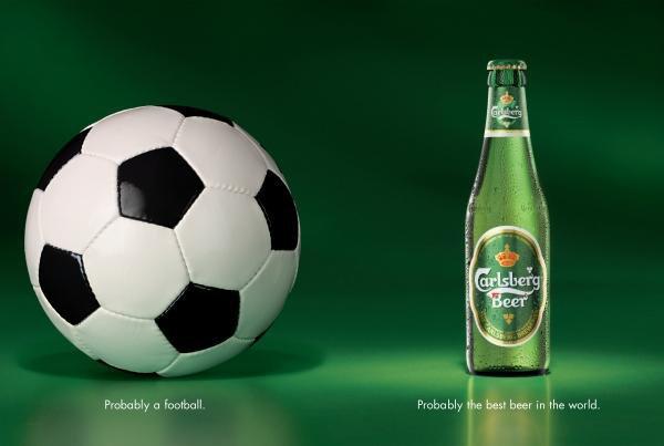 Carlsberg выпустил свою линию под Евро-2012
