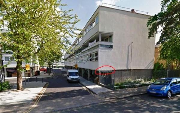 Предположительно дом Насирова в Лондоне