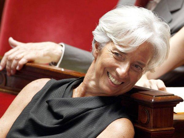 Лагард — первая женщина, возглавившая Международный валютный фонд