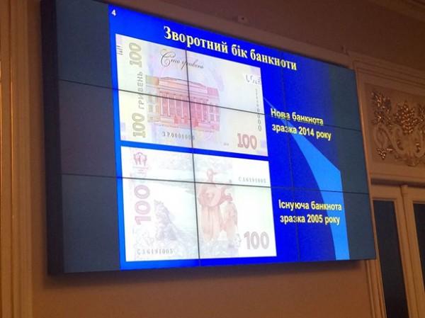 Презентация новой банкноты в 100 гривен
