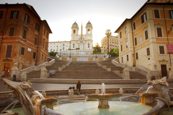 Рим: Площадь Испании и Площадь Навона