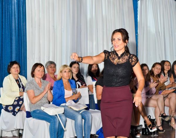 Ксения Ланчак проводит мастер-класс