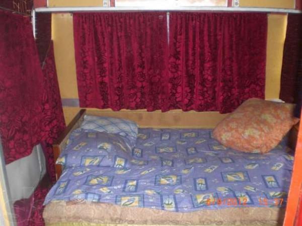 Одна из комнат в автобусе ЛАЗ