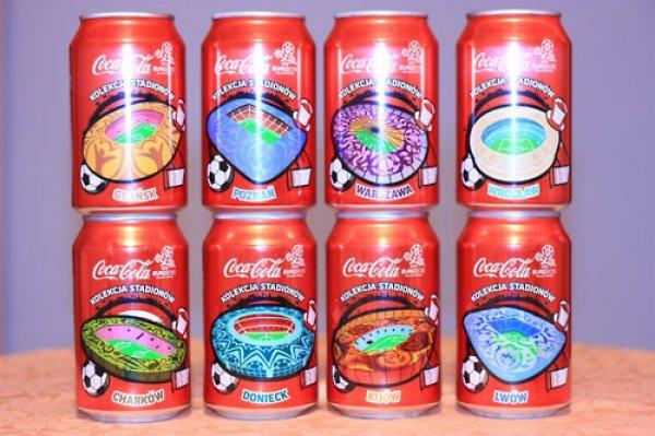Coca-Cola: Виды всех стадионов