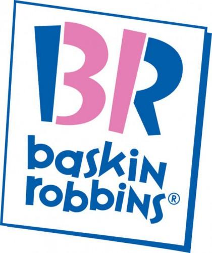 Baskin Robbins удачно использует свой логотип для того, чтобы показать, сколько видов мороженого производит – 31.