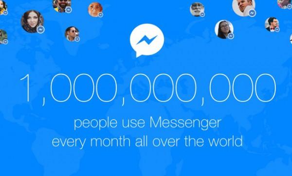 Messenger установил рекорд по количеству пользователей