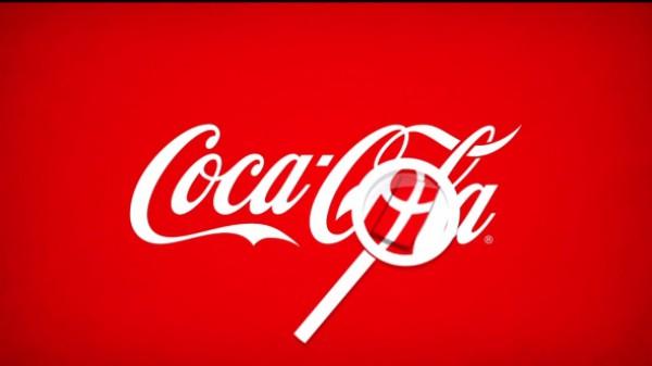 """Для рекламной компании в Дании Coca-Cola """"вставила"""" в логотип датский флаг."""