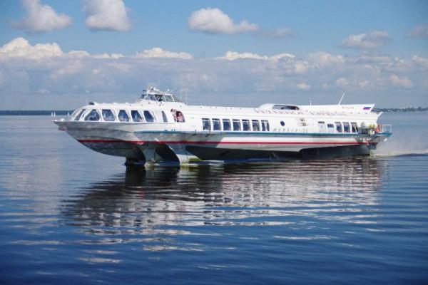 Катера на подводных крыльях были популярны в СССР