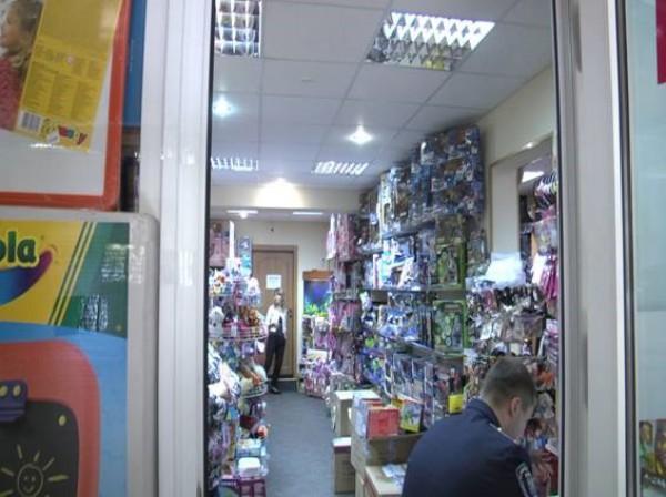 Подпольный пункт обмена валюты в Киевской области