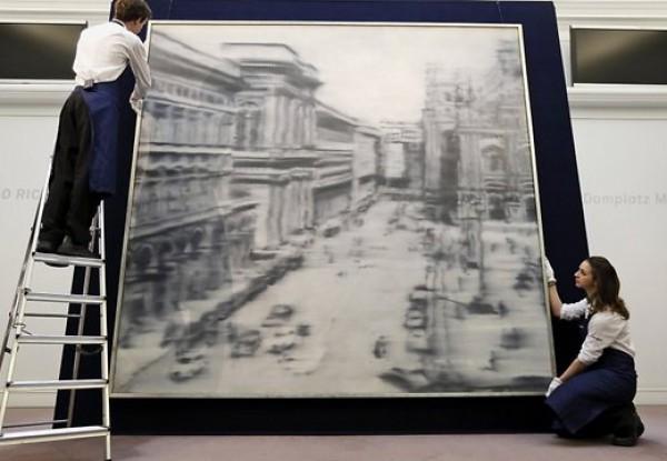 Картина Герхарда Рихтера Domplatz, Mailand