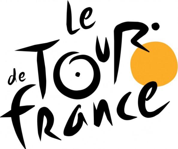 Тур де Франс в своем абстрактном логотипе хорошо зашифровали велогонщика.