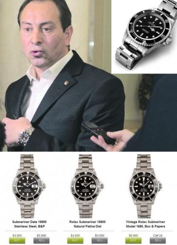 Часы Николая Томенко