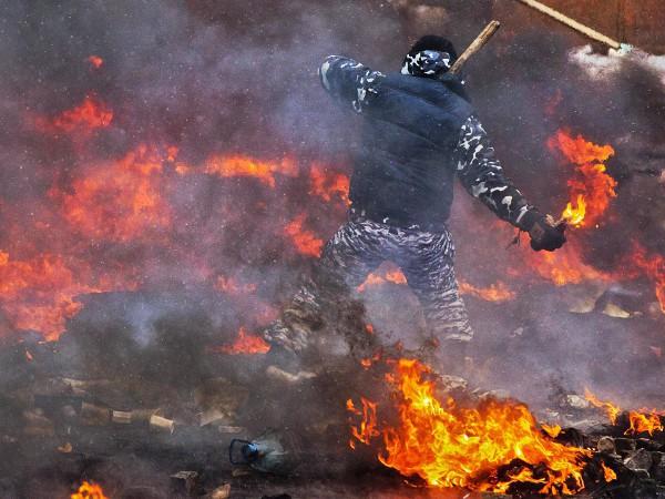 Штурм на Грушевского 22 января