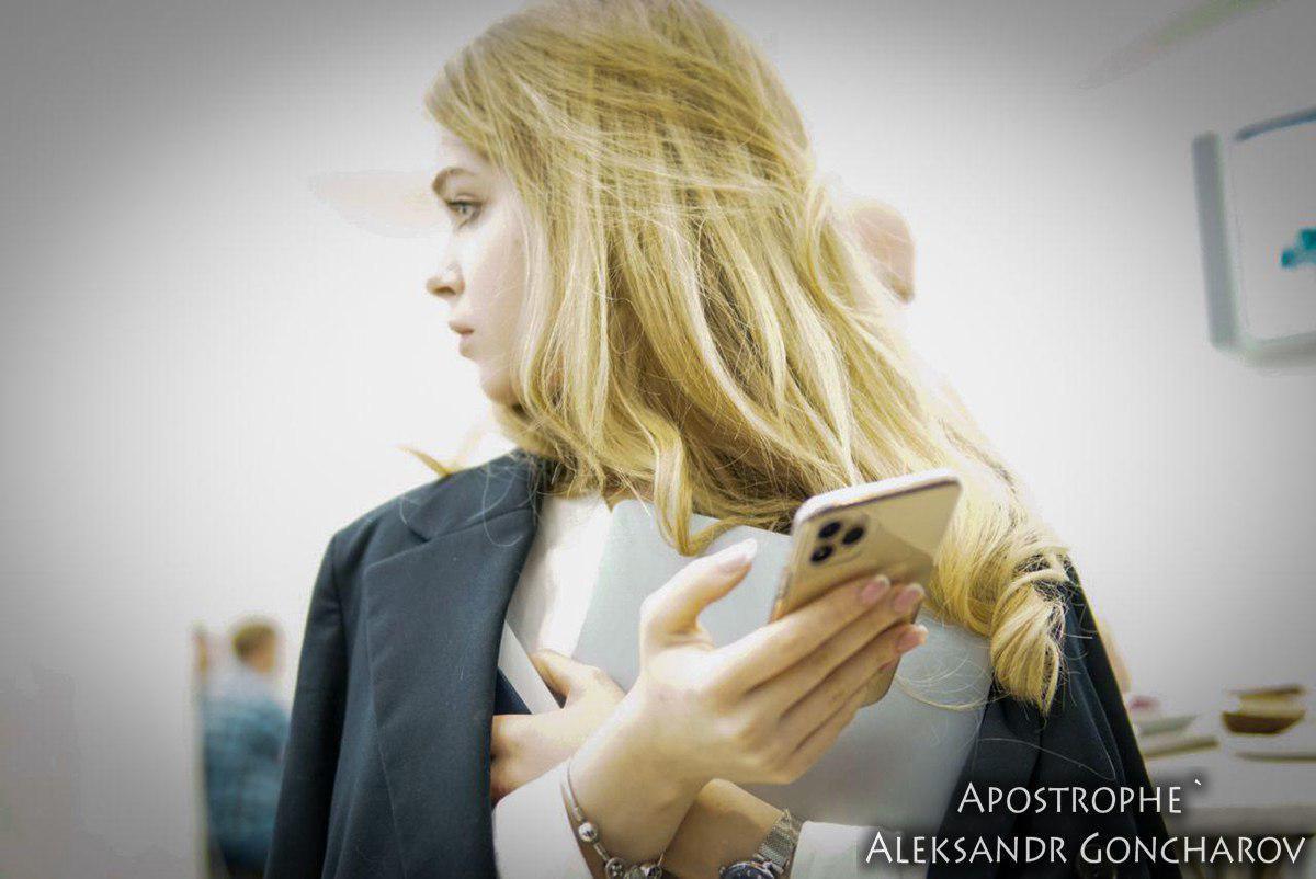 Марьяна Михолап засветилась последней моделью iPhone