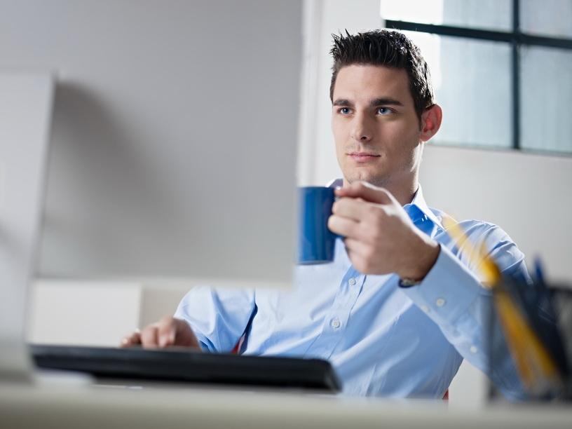 Кофе на работе - самый популярный