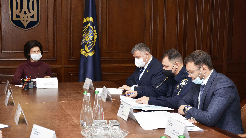 Венедиктова заявляет о прогрессе в расследовании коррупционных преступлений