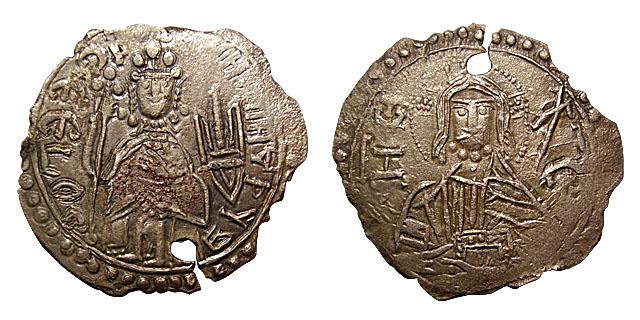Первые украинские монеты