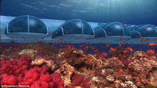 У богачей вскоре может появиться новая прихоть - недельный отдых под водой