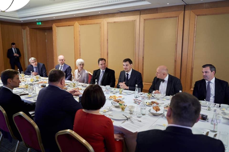 Премьер и представители Торговой палаты договорились о сотрудничестве