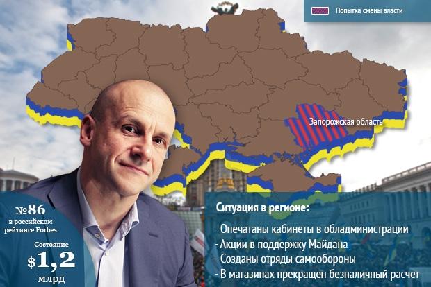 Константин Григоришин, владелец Запорожтрансформатор