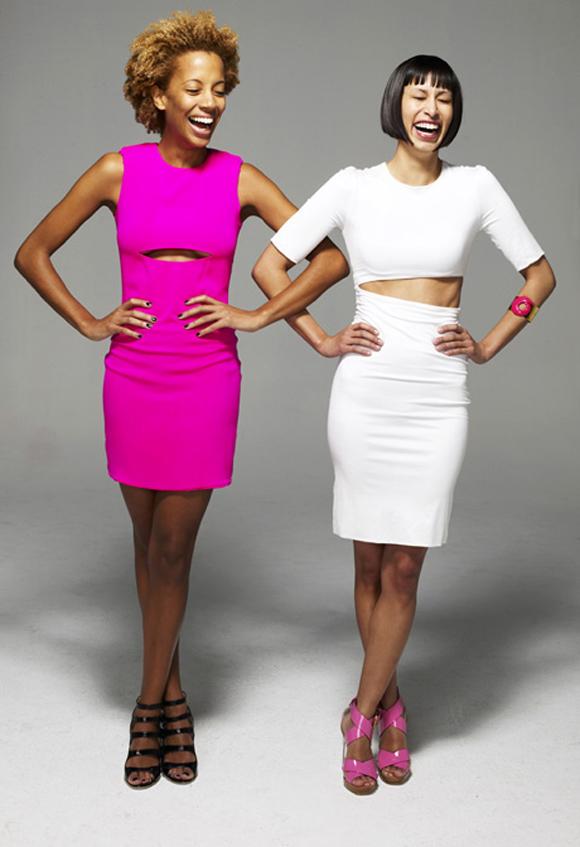 Карли Кашни (слева) - самая успешная предпринимательница в возрасте до 30 лет