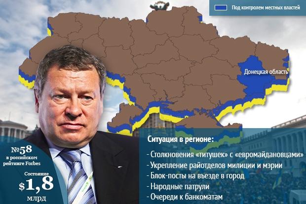 Игорь Зюзин, владелец Донецкого электрометаллургического завода