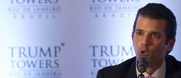 Дональд-младший уверяет, что все, чего касается рука любого из Трампов, получается грандиозным