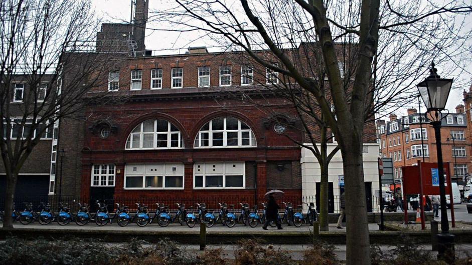 Старая станция метро в Лондоне - ныне дом Фирташа