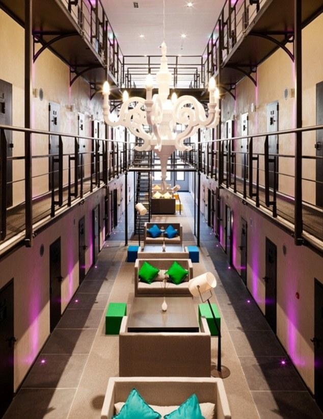 В бывшей нидерландской тюрьме открылась VIP-гостиница