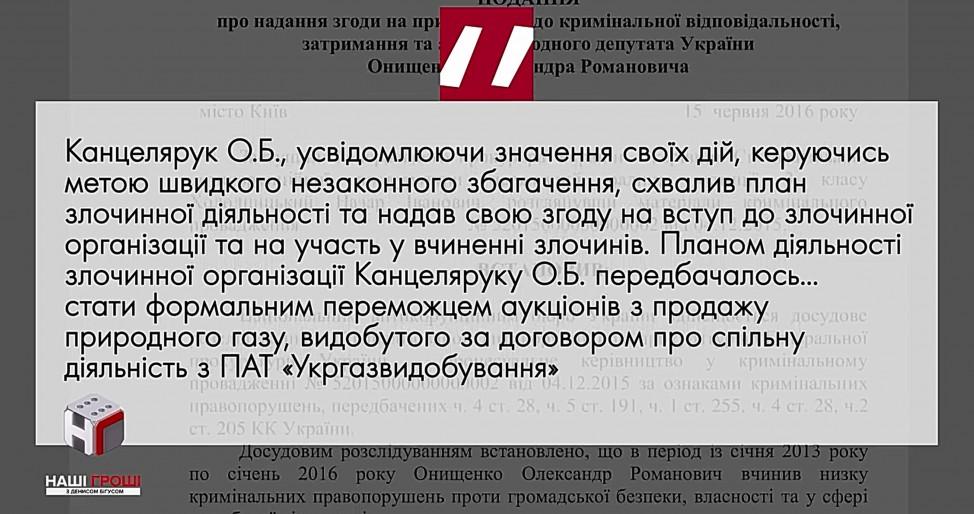 Одна из фирм Наталии Зубар привела расследование к Александру Канцеляруку, фигуранту по