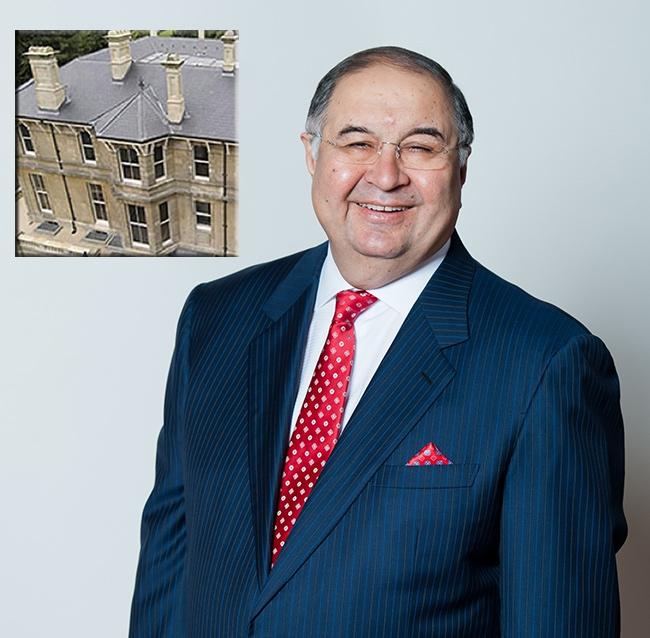 Усманов купил дом, которым владел эмир Катара
