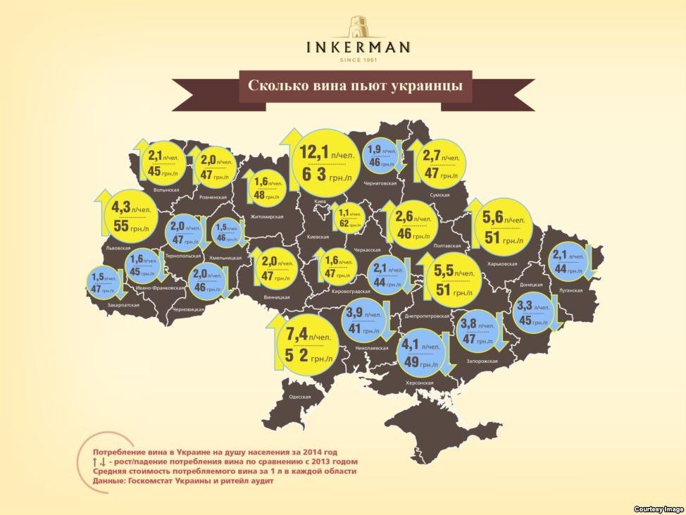 Самое дорогое вино - в Киеве