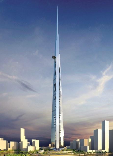 Kingdom Tower в высоту будет более 1 км