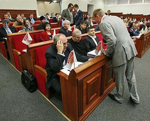 Многие депутаты имеют свой бизнес в Киеве