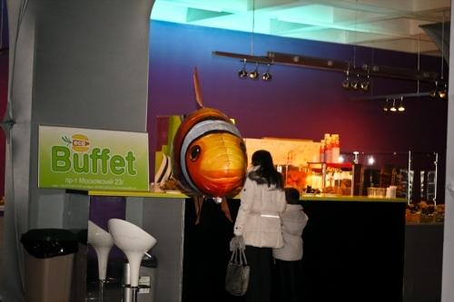 Eco Buffet - сеть ресторанов для вегетарианцев