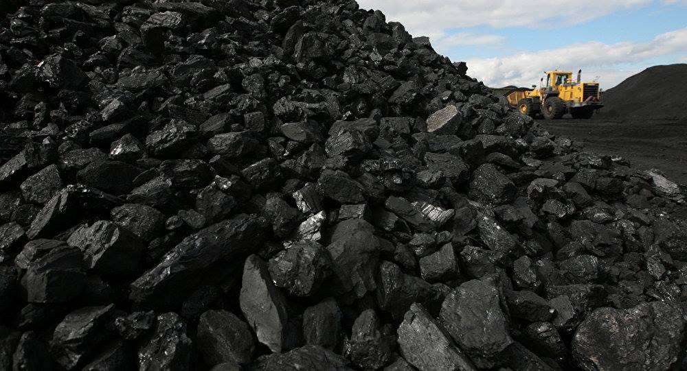добыча угля на разрезе