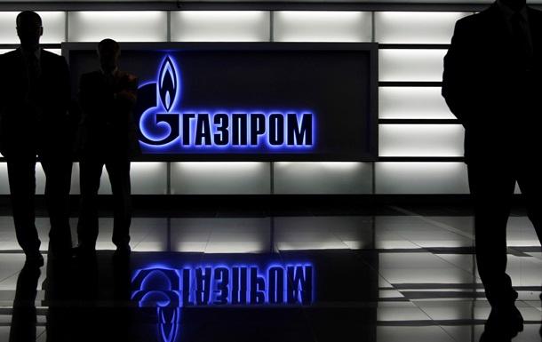 Газпром лидирует со значительным отрывом