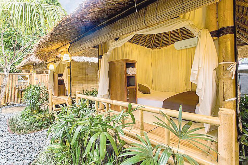 Вместо столичной квартиры можно арендовать хижину на Бали