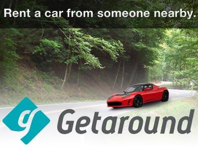 Сервис Getaround очень похож на RelayRides
