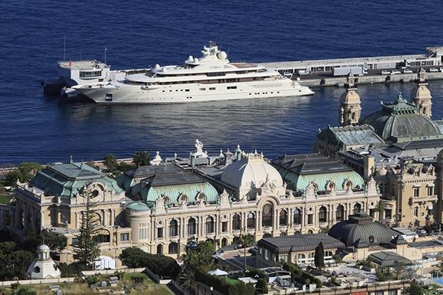 Яхта самого богатого россиянина, Усманова, Dilbar