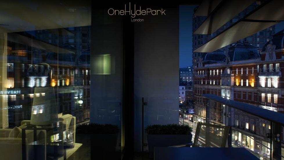 Балкон с видом на город