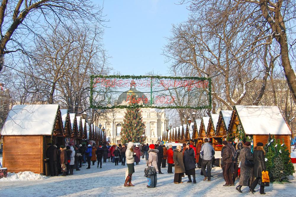 Новый год во Львове можно встретить бюджетно и роскошно
