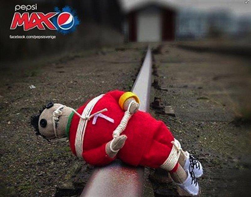 Из-за продвижения в соцсетях фото с куклой вуду, напоминающей Криштиану Рональду, Pepsi пришось извиниться.